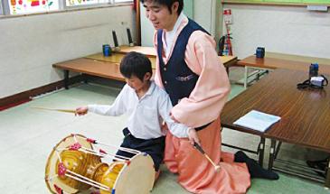 外国文化体験ー韓国